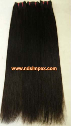 Natural Straight hair exporter in India